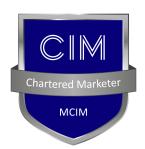 chartered marketer badge